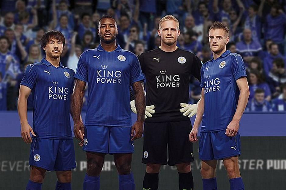 Leicester dres 1