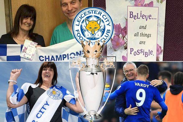 Navijačica Leicestera