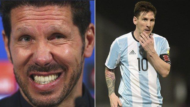 Messi - Simeone