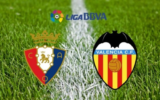 Osasuna v Valencia