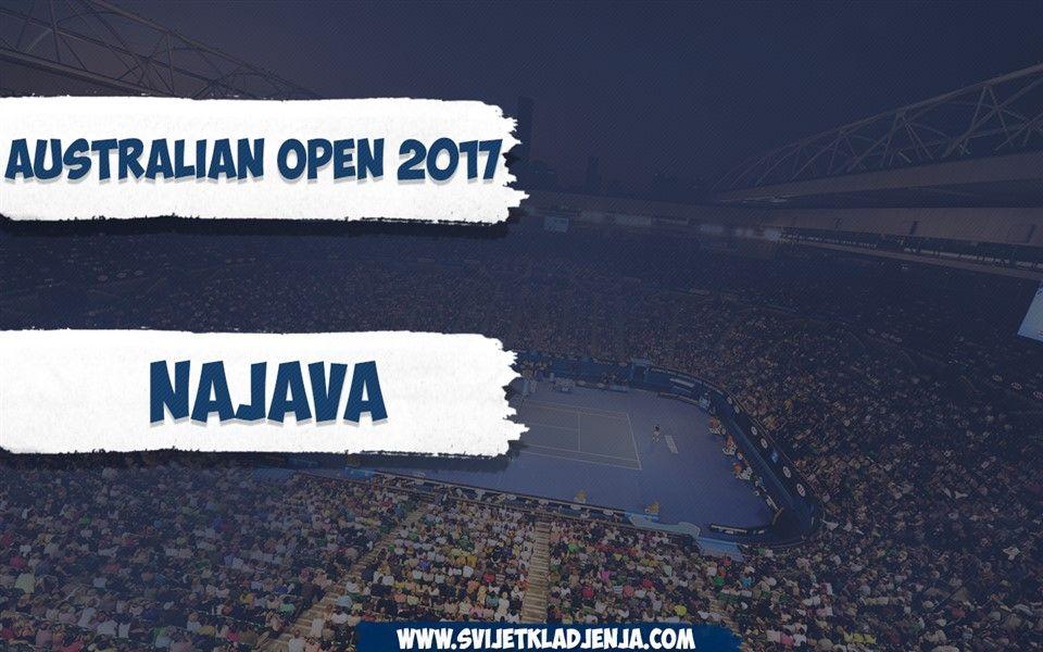 Najava: Prvi Grand Slam turnir u 2017. godini - Australian Open