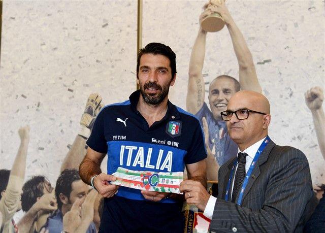 Gianluigi Buffon protiv Albanije slavi jubilej