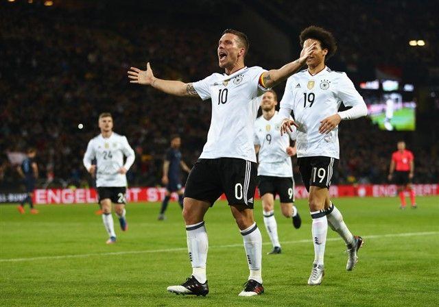 VIDEO: Sjajan pogodak Podolskog u oproštajnoj utakmici od reprezentacije