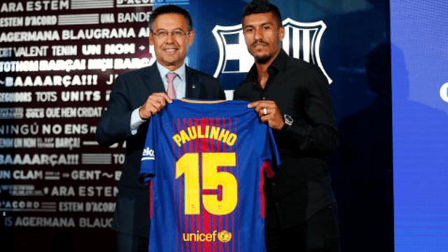 Barcelona prodala sramotan broj Paulinhovih dresova: Evo i tko ga je kupio!