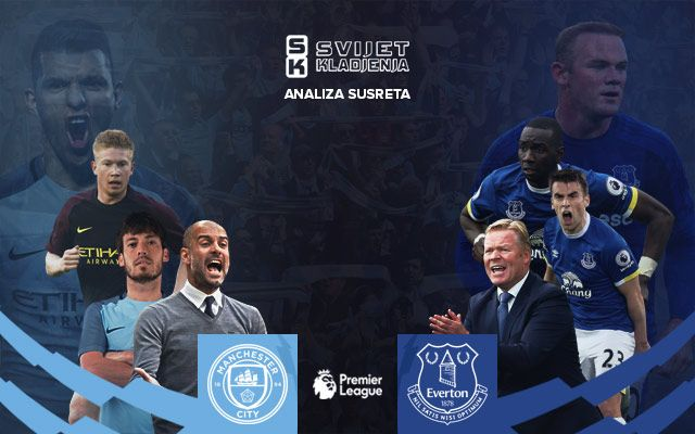 Premier League: Manchester City-Everton, analiza i prijedlog za klađenje