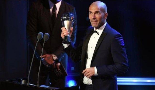 Zinedine Zidane izabran za najboljeg trenera na svijetu!