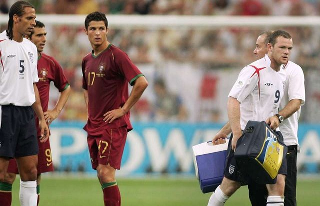 Wayne Rooney otkrio što je rekao Cristianu Ronaldu u utakmici Portugala i Engleske 2006. godine