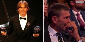 Modrić na dodjeli nagrada rasplakao Zvonimira Bobana