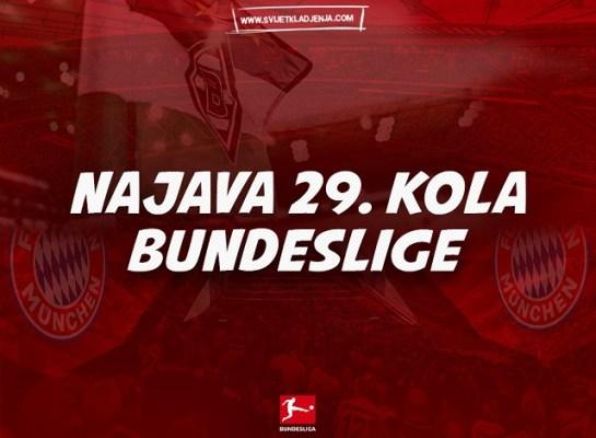 Najava 29. kola Bundeslige