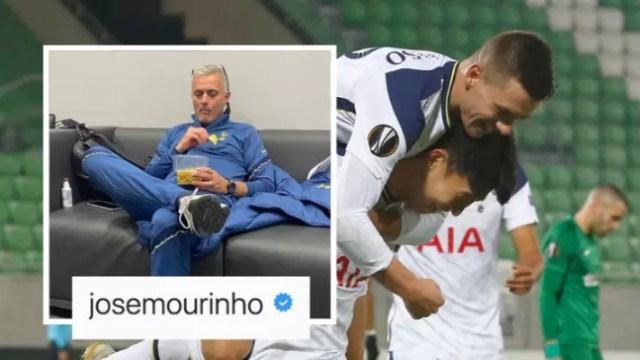 Jose Mourinho ismijavao