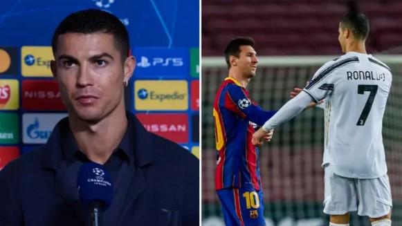 Cristiano Ronaldo branio