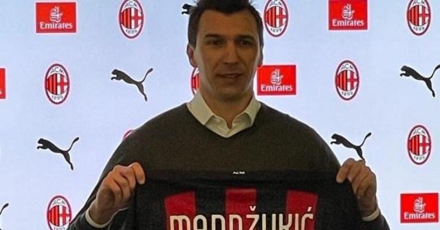 Mario Mandžukić je novi