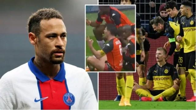 Neymar napao Dortmunda