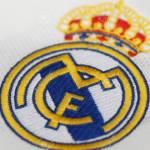 BANGKOK, THAILAND – JULY 12: The  Logo of  Real Madrid  on Footb