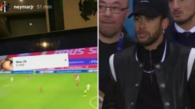 Neymar gleda utakmice