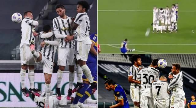 Ronaldo se prepao