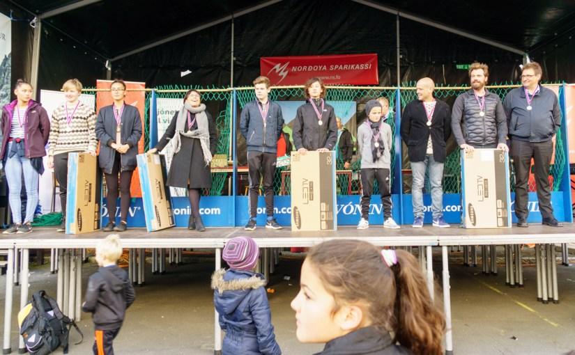 Cecilia og Bartal vunnu svimjingina á Sjómannadegnum 2016