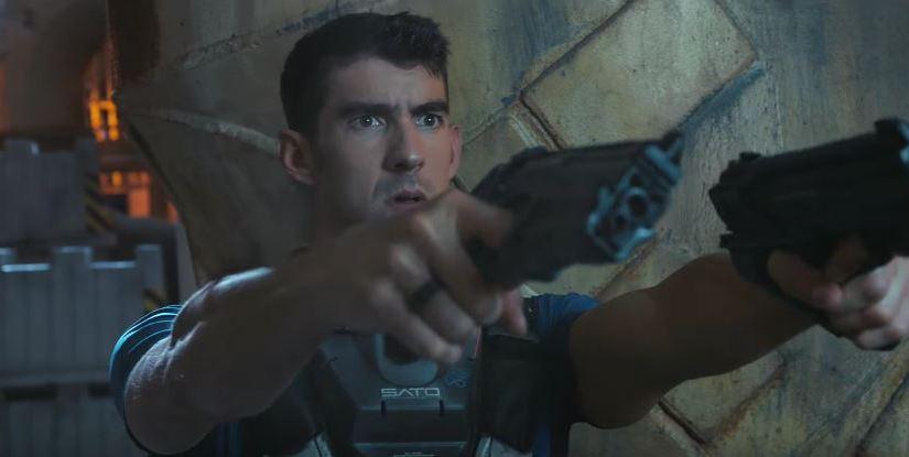 Michael Phelps í Call of Duty trailara