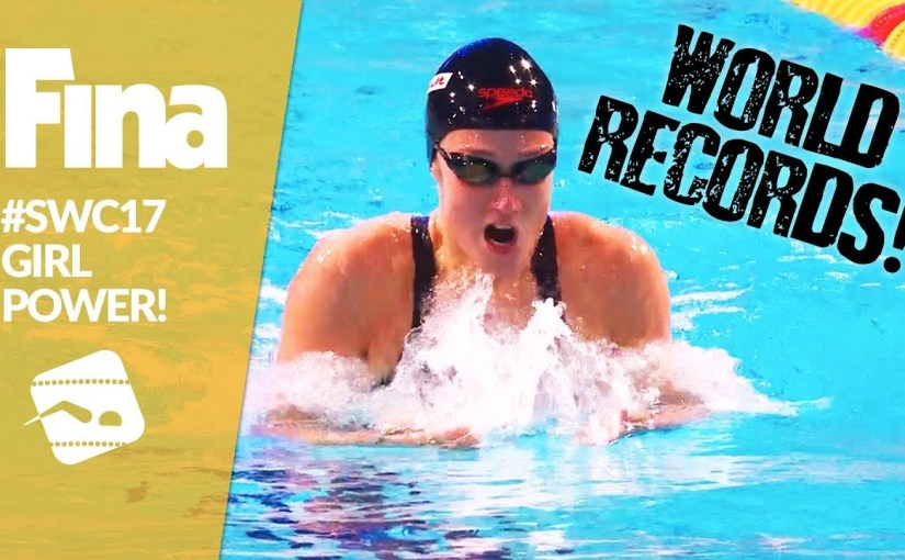 FINA fegnast um 'Girl Power' á World Cup 2017