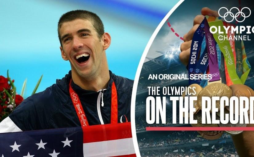 Olympiska rásin um tá Michael Phelps vann 8 gull á OL í Beijing 2008