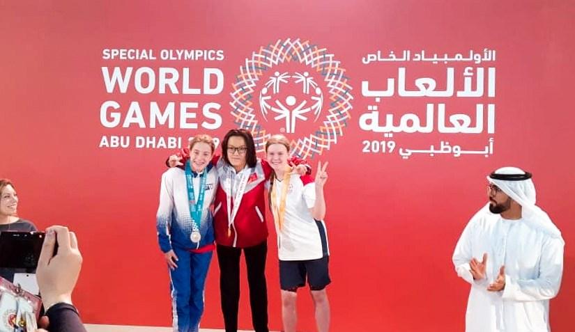 Signa Vár silvur og bronsu á Special Olympics 2019