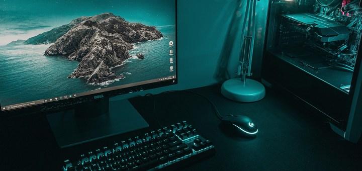 Pc Desktop Keyboard Monitor Desk  - deni_eliash / Pixabay