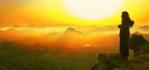 Woman Sunrise Fog Standing Female  - nandhukumar / Pixabay