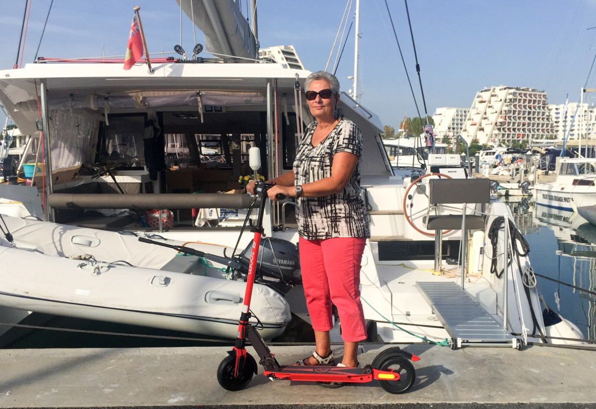 New E-Scooter for the Admiral
