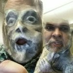Face swap with a gargoyle. https://t.co/IGKgYMnYBs https://t.co/6qYx0RAnis