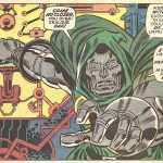 "Doctor Doom on social distancing. ""Come no closer, you overzealous oaf!"""