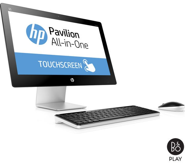 Hp Pavilion 23 Q110na Touchscreen All In One Pc Amd A10