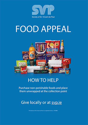 SVP Annual Appeal 2017 Food Appeal