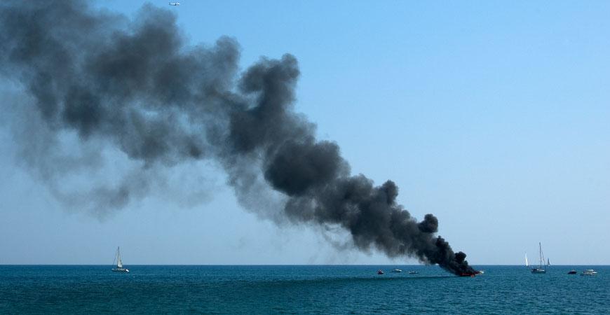 Brandveiligheid aan boord