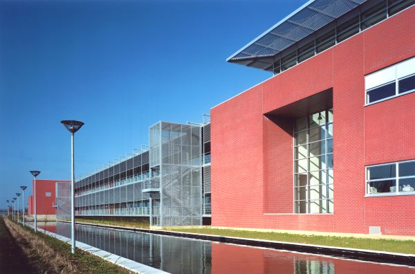 Punch International - Production hall, offices, car park