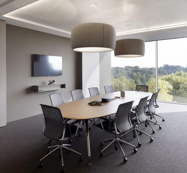 Interieur architectuur vergaderzalen Allen & Overy