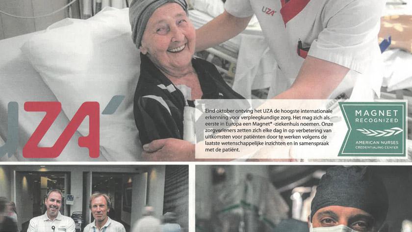 Adrem krantje UZA Koningin Mathilde Moeder-en Kind Centrum