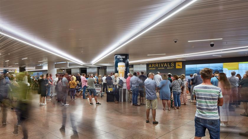 Aankomsthal Brussels Airport | Brussel