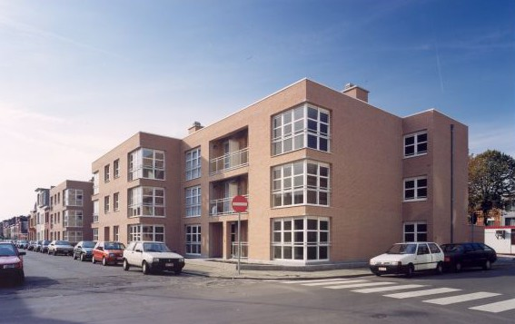Woonhaven Antwerpen - Apartments for social housing Bosschaertstraat / Hendriklei / A. De Cockstraat / Van Craesbeeckstraat
