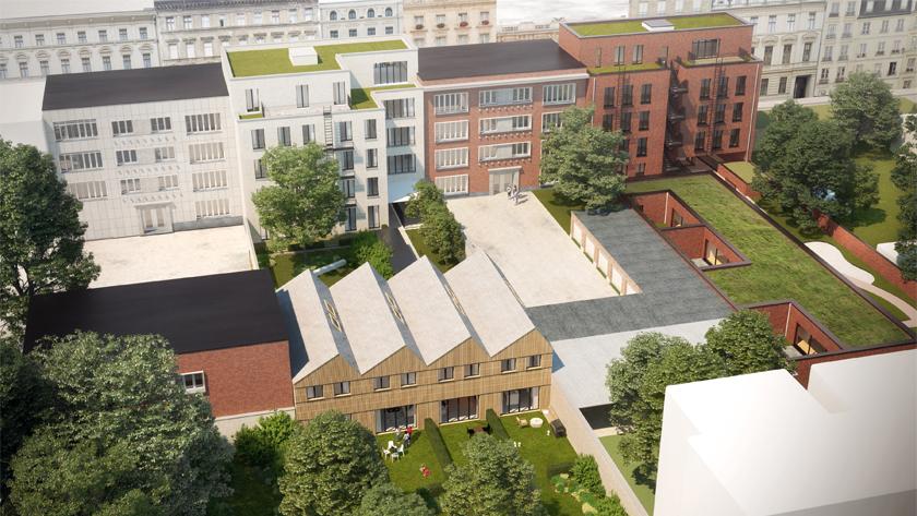 Building Project 3 & 9, Harmonie  | Antwerp