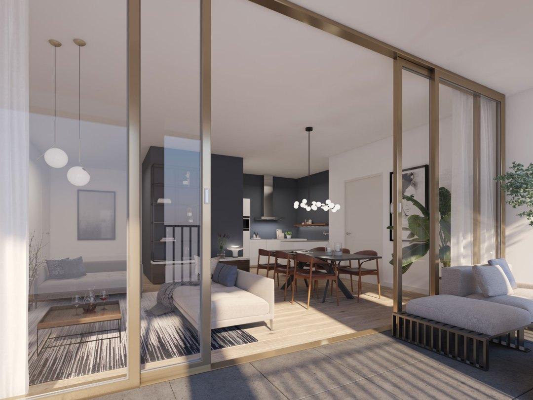 Residentiële appartementen Cores in de Van Schoonbekestraat in Antwerpen