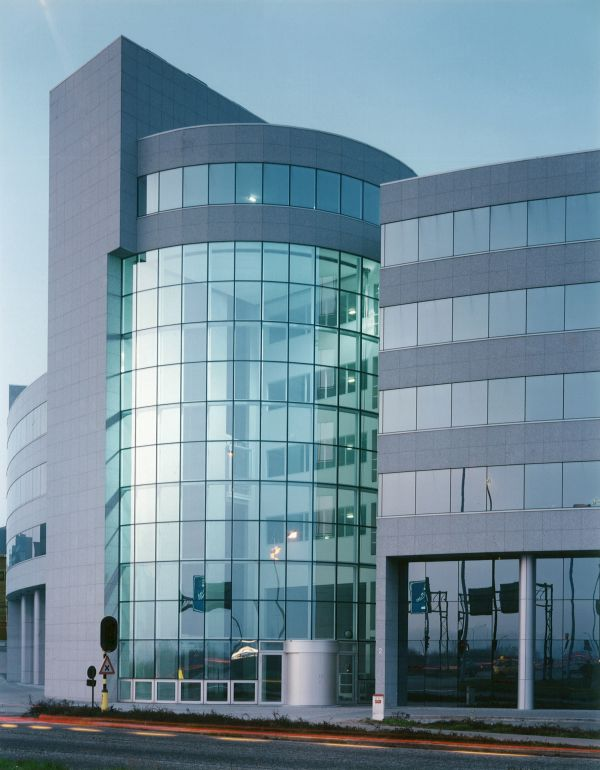 Nieuwbouw, kantoren Axa, Antwerpen, kantoorgebouw SVR-ARCHITECTS
