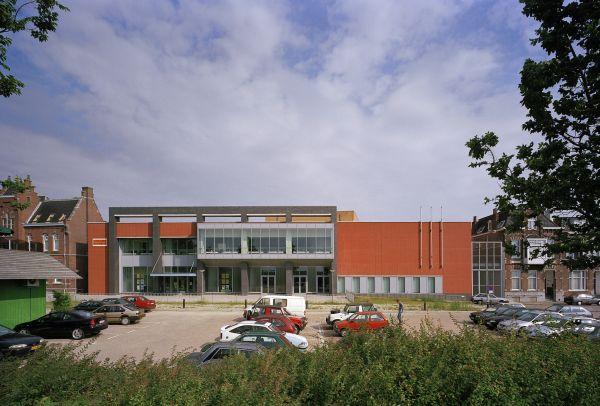 Nieuwbouw Scheldetheater, Antwerpen, project ontspanning SVR-ARCHITECTS