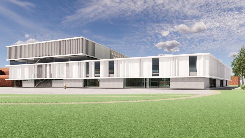 ETEX Innovation Center | Kapelle o/d Bos