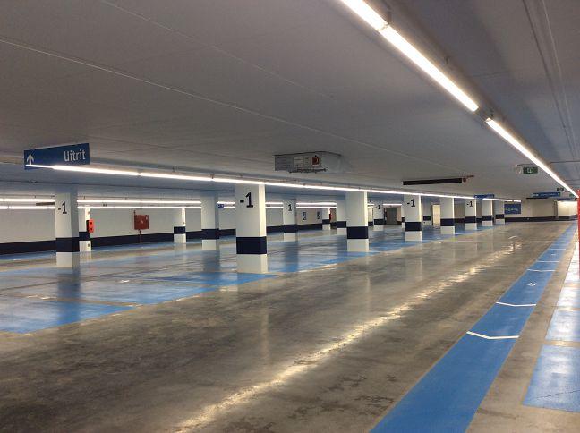 Underground car park Grote Markt VilvoordeOfficial opening