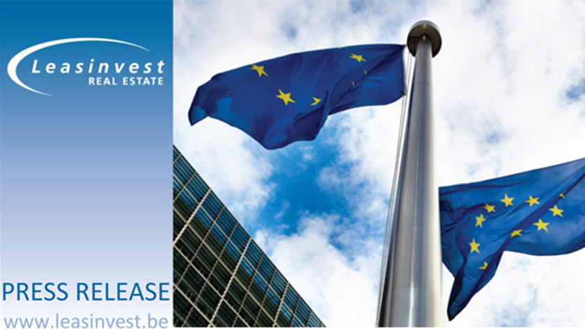Leasinvest Real Estate signs usufruct agreement with European Parliament