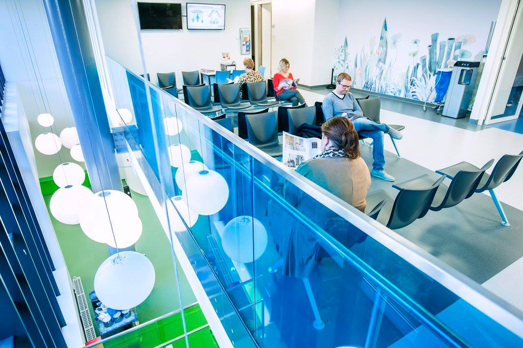 Nieuwbouw afdeling nierdalyse/nefrologie Koningin Mathilde Moeder-en Kind Centrum UZA, gezondheidszorg SVR-ARCHITECTS