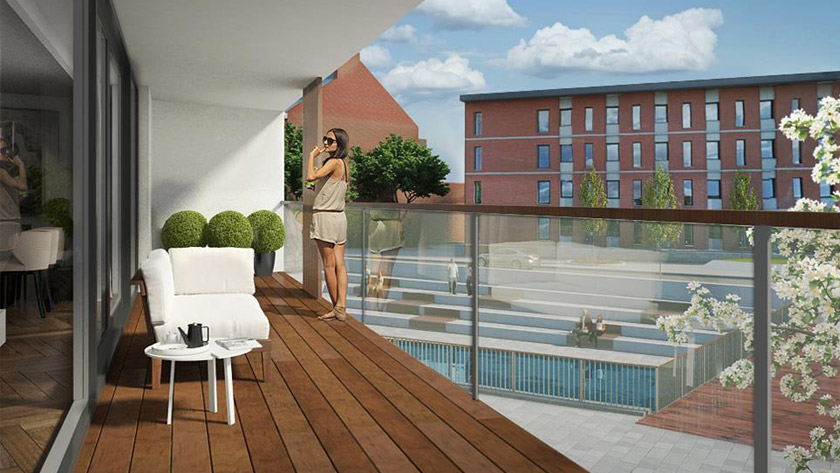 Nieuwe wooncomplexen in Leuven *
