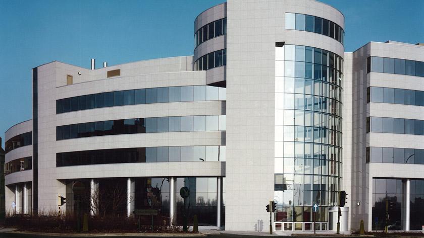 AXA, un bâtiment en une seule pièce