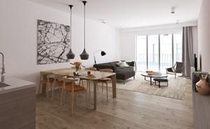 Nieuwbouw residentieel complex P. Benoitstraat, project huisvesting SVR-ARCHITECTS