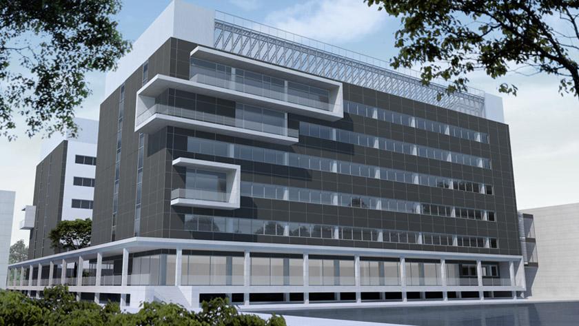 UGent en VIB bouwen nieuw onderzoeksgebouw op campus Ardoyen. *